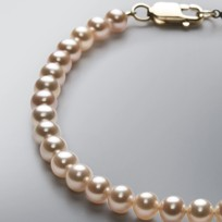 Pearl Bracelet with Natural Mix Color Freshwater 5.5-5.0 mm Pearls