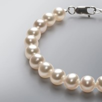 Pearl Bracelet with Natural Mix Color Freshwater 7.5-7.0 mm Pearls