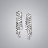 3 Line Diamond Danglers