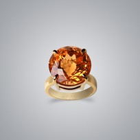 15.5ct Citrine Ring