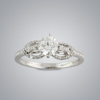 Half Carat Solitaire Diamond Ring (GIA)