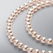 Endless Pearl Necklace with Natural Multicolored Freshwater Pearls