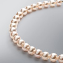Pearl Necklace with Natural Multicolored Freshwater 10.5-9.0 mm Pearls