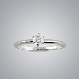 Quarter Carat Solitaire Diamond Ring