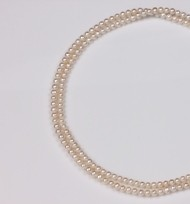 Endless Freshwater Pearl Necklace, White Color, 5.0mm